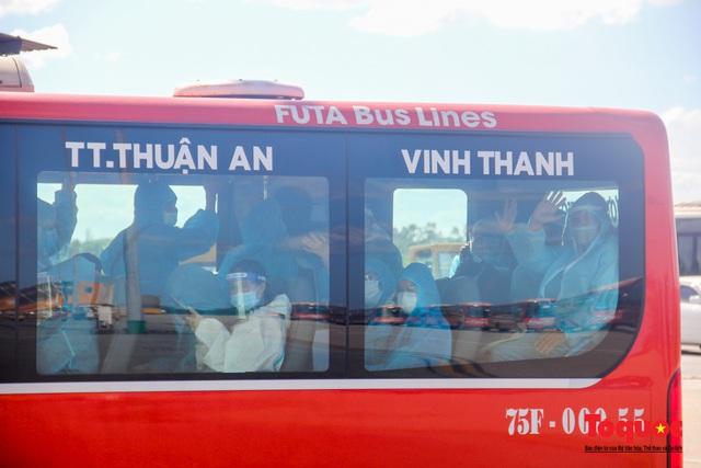 Thừa Thiên Huế đón 240 công dân từ TPHCM về quê tránh dịch - Ảnh 8.