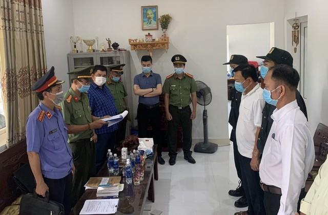 Công an thông tin vụ án tham ô tài sản tại Cảng hàng không quốc tế Phú Bài - Ảnh 2.