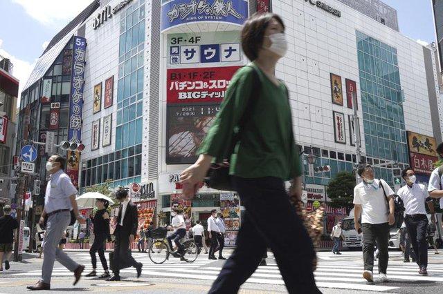 Nhật Bản ghi nhận số ca mắc kỷ lục ngay tại thời điểm diễn ra Olympic Tokyo  - Ảnh 1.