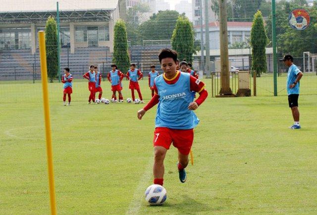 Cầu thủ Tuyết Dung tự tin có thể cùng với đội tuyển nữ Việt Nam lần đầu tiên góp mặt tại World Cup - Ảnh 1.