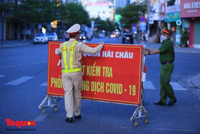 Hình ảnh Đà Nẵng bắt đầu thực hiện cách ly toàn xã hội từ 18 giờ tối nay - Ảnh 3.