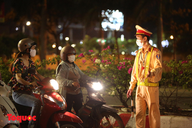 Hình ảnh Đà Nẵng bắt đầu thực hiện cách ly toàn xã hội từ 18 giờ tối nay - Ảnh 8.