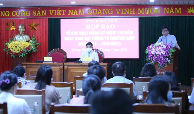 Nhiều hoạt động ý nghĩa kỷ niệm 110 năm ngày sinh Đại tướng Võ Nguyên Giáp - Ảnh 1.