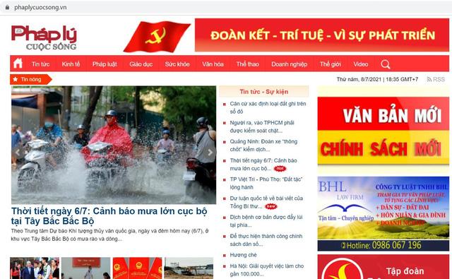 Công ty Cổ phần Truyền thông Pháp luật Việt Nam bị xử phạt với số tiền 75 triệu đồng - Ảnh 1.