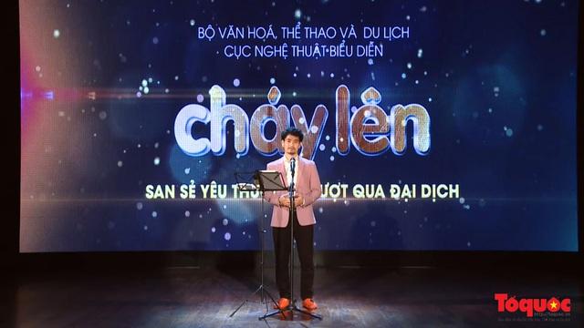 Chương trình nghệ thuật đặc biệt không khán giả được livestream giữa mùa dịch tại 5 điểm cầu Hà Nội - Ảnh 1.