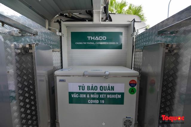 Cận cảnh xe chuyên dụng phục vụ tiêm chủng lưu động Made in Vietnam - Ảnh 12.