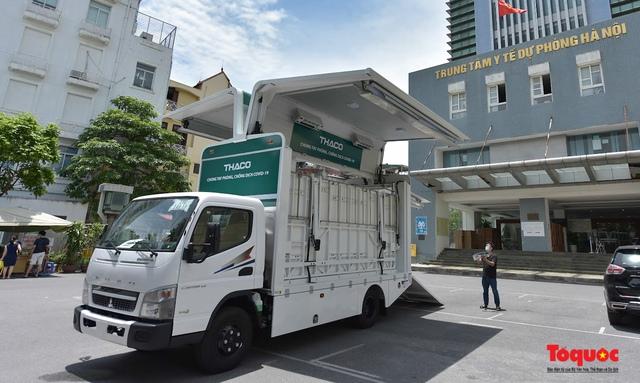Cận cảnh xe chuyên dụng phục vụ tiêm chủng lưu động Made in Vietnam - Ảnh 5.