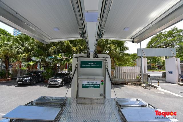 Cận cảnh xe chuyên dụng phục vụ tiêm chủng lưu động Made in Vietnam - Ảnh 8.