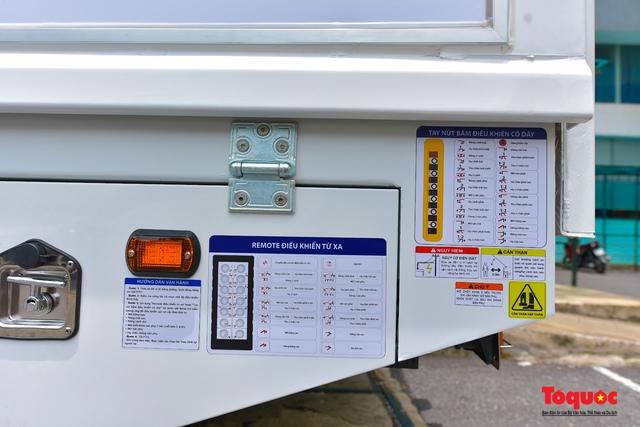 Cận cảnh xe chuyên dụng phục vụ tiêm chủng lưu động Made in Vietnam - Ảnh 6.