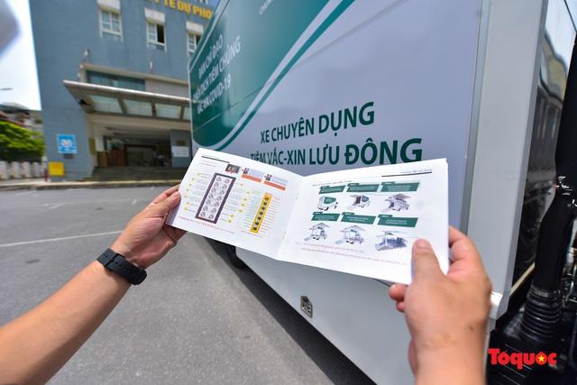 Cận cảnh xe chuyên dụng phục vụ tiêm chủng lưu động Made in Vietnam - Ảnh 7.