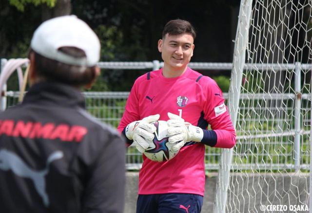 Coach Park Hang-seo summoned additional goalkeeper Dang Van Lam - Photo 1.