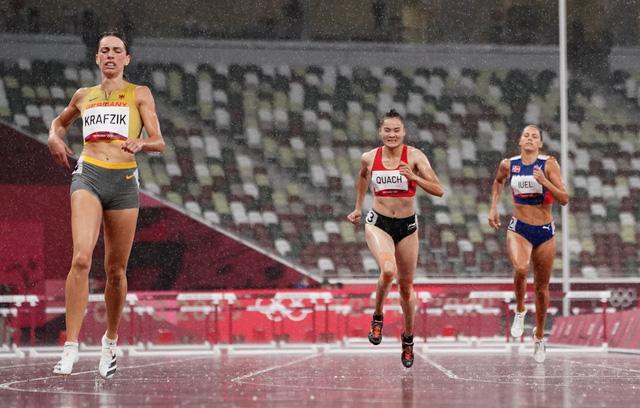 Quách Thị Lan dừng bước tại Olympic Tokyo 2020 - Ảnh 1.