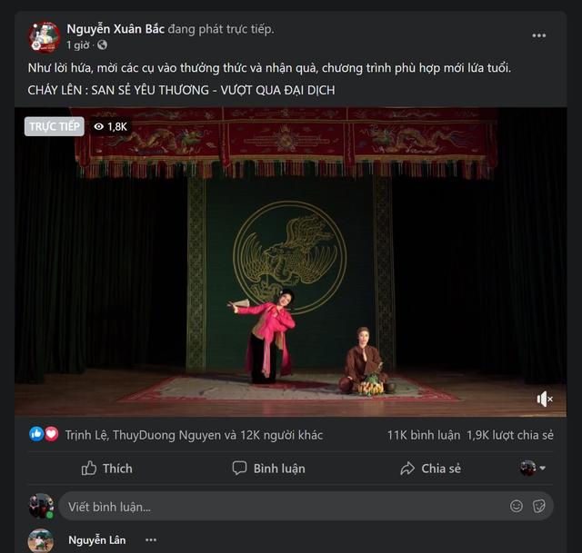 Chương trình nghệ thuật đặc biệt không khán giả được livestream giữa mùa dịch tại 5 điểm cầu Hà Nội - Ảnh 10.