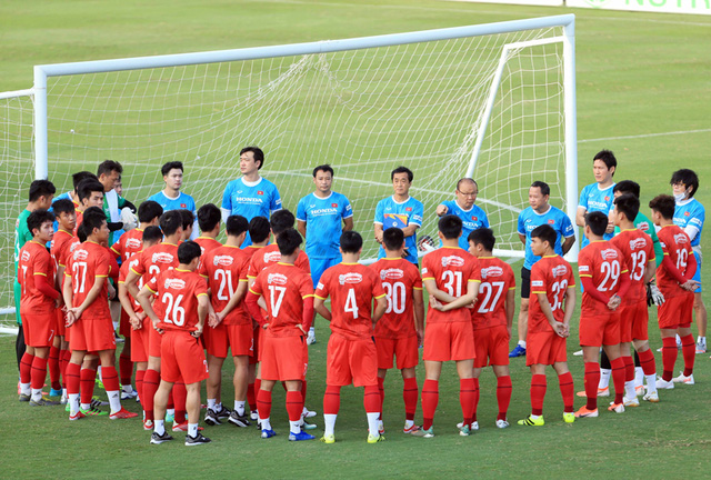 Tuyển Việt Nam công bố danh sách rút gọn 25 cầu thủ  - Ảnh 1.