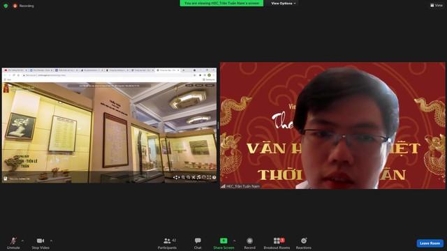 """Ứng dụng công nghệ trong trưng bày, Bảo tàng Lịch sử quốc gia """"hút khách"""" trong mùa dịch - Ảnh 2."""