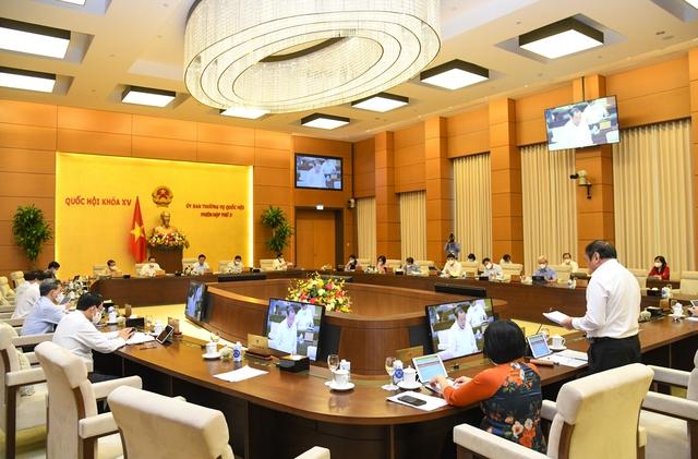 Báo cáo Thường vụ Quốc hội Tờ trình Dự án Luật Điện ảnh (sửa đổi) - Ảnh 1.