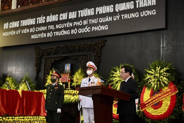 Tổ chức trọng thể Lễ tang Đại tướng Phùng Quang Thanh - Ảnh 5.