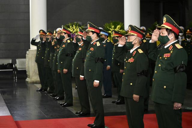 Tổ chức trọng thể Lễ tang Đại tướng Phùng Quang Thanh - Ảnh 4.