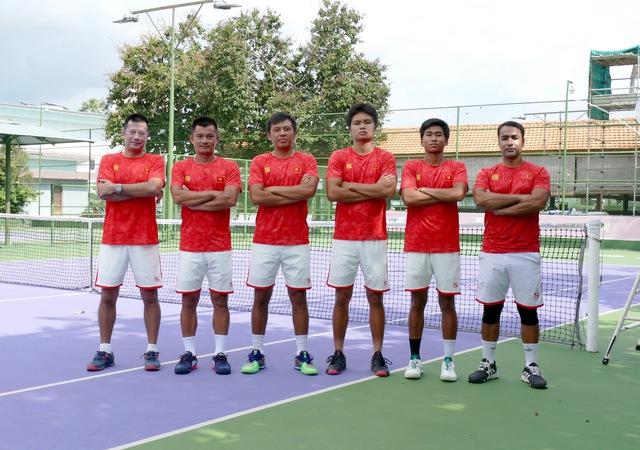 Tay vợt số 1 Việt Nam sẵn sàng cho trận ra quân tại Giải Quần vợt Đồng đội nam quốc tế Davis Cup - Ảnh 1.