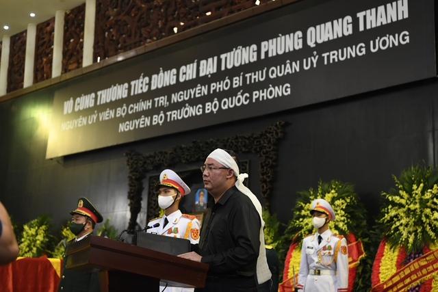 Tổ chức trọng thể Lễ tang Đại tướng Phùng Quang Thanh - Ảnh 6.