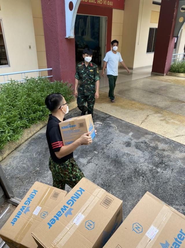 TNI King Coffee trao tặng gạo cho người dân vùng dịch và tiếp sức cho tuyến đầu chống dịch tại TP.HCM và Bình Dương - Ảnh 2.