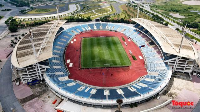 Sân vận động Mỹ Đình đang được nâng cấp, cải tạo - Ảnh 1.