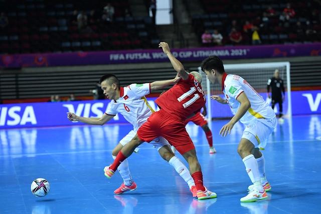 Futsal Việt Nam giành chiến thắng nghẹt thở trước đối thủ Panama - Ảnh 1.