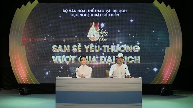"""Đặc sắc chương trình nghệ thuật online """"Cháy lên"""" số thứ 5 với sự tham dự của Hồ Hoài Anh và Lưu Hương Giang  - Ảnh 1."""