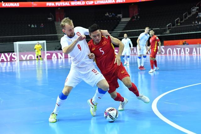 Thi đấu quả cảm, tuyển Futsal Việt Nam làm nên lịch sử ở World Cup - Ảnh 1.