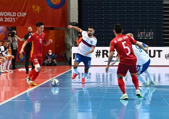 Tuyển Futsal Việt Nam dừng bước ở vòng 1/8 sau những phút buộc đương kim Á quân phòng thủ toàn diện - Ảnh 1.