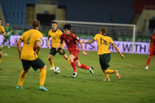 Thi đấu kiên cường, tuyển Việt Nam thất bại tối thiểu trước đội khách Australia - Ảnh 1.