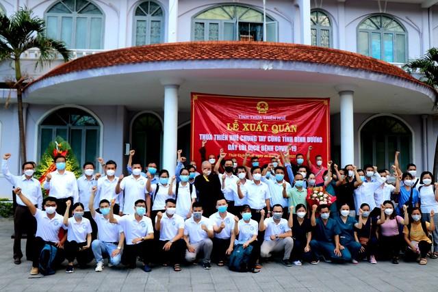 Thừa Thiên Huế điều động thêm nhân lực vào hỗ trợ Bình Dương chống dịch - Ảnh 1.