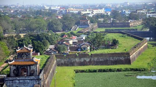 Trên hệ thống kinh thành Huế hiện có 876 hộ dân đang sinh sống