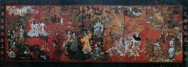 """""""Vườn xuân Trung Nam Bắc"""" của danh họa Nguyễn Gia Trí"""