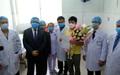 Xúc động bức thư hai cha con người Trung Quốc nhiễm Covid-19 gửi đến bác sĩ Bệnh viện Chợ Rẫy trước khi về nước