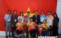 Đại sứ Việt Nam tại Indonesia chúc mừng đoàn thể thao người khuyết tật Việt Nam