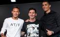 """Bất ngờ Neymar ví  Ronaldo như """"quái vật"""" và """"thần tượng"""" Messi"""