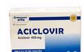 Thu hồi thuốc Aciclovir điều trị bệnh zona, thủy đậu