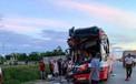 Nghệ An: Xe khách chở 50 người tai nạn trên quốc lộ 1A, 14 người thương vong