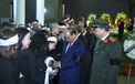 Hình ảnh xúc động Lãnh đạo Đảng, Nhà nước viếng, tiễn đưa 3 cán bộ công an hy sinh ở Đồng Tâm