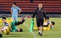 Thất bại trước UAE tại ASIAD khiến thầy trò HLV Park Hang-seo gặp chút áp lực