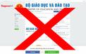 Cảnh báo nhiều trang web mạo danh Bộ Giáo dục và Đào tạo để rao làm bằng giả