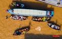 Chợ nổi Cái Răng: Bức tranh sinh động nhìn từ trên cao