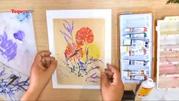 """""""Vui học vẽ tại nhà"""" - không gian sáng tạo cho các em nhỏ"""