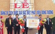 Quảng Nam: Đón Bằng Di tích quốc gia đặc biệt Phật viện Đồng Dương