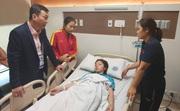 Nữ cầu thủ ĐT nữ Việt Nam nhập viện sau trận chung kết bóng đá nữ