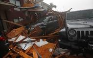Hình ảnh siêu bão mạnh nhất trong lịch sử Mỹ tàn phá Florida