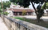 """Đình cổ Lại Thế gần 280 tuổi """"kêu cứu"""" trước mùa mưa bão"""