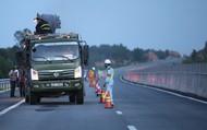 Hình ảnh sửa chữa mặt đường cao tốc hơn 34.000 tỷ hư hỏng