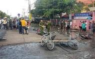 2 học sinh tử vong, 4 em bị thương vì đứt đường dây điện